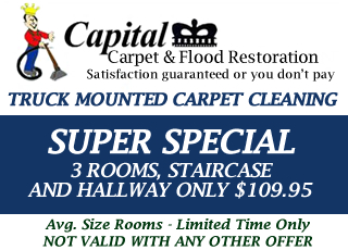 Super Special Carpet Cleaning Coupon